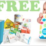 An example of the free stuff you can get when you start a registry with Buy Buy Baby
