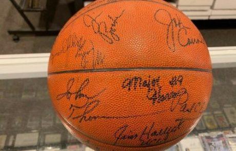 Autographed Coach Mack Basketball Sweepstakes