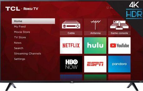 4K Ultra HD Smart Roku LED TV Sweepstakes