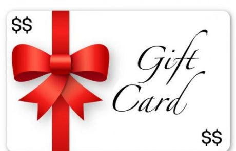 $2,500 Gift Cards Sweepstakes