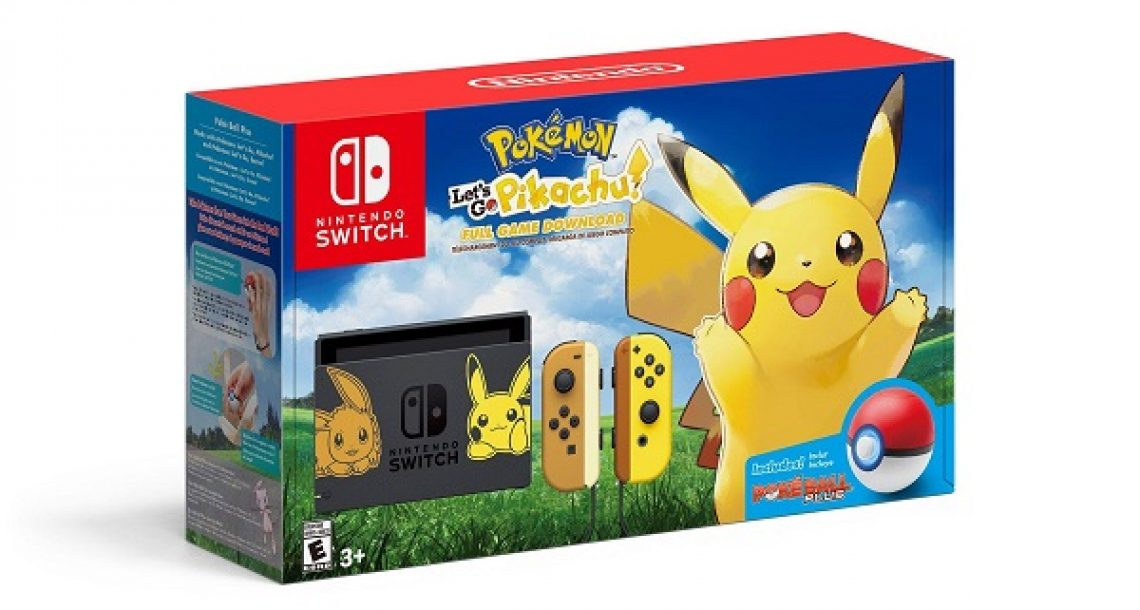 Pokemon Nintendo Switch Bundle Sweepstakes