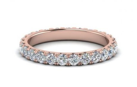 Rose Gold Eternity Band Sweepstakes