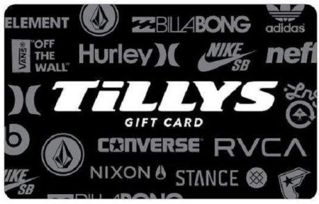 $500 Tillys 2020 Giftcard Sweepstakes