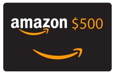 $500 Amazon Shopping Spree Sweepstakes