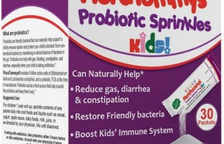 Free Sample of Flora Tummys Probiotic Power Packet for Kids