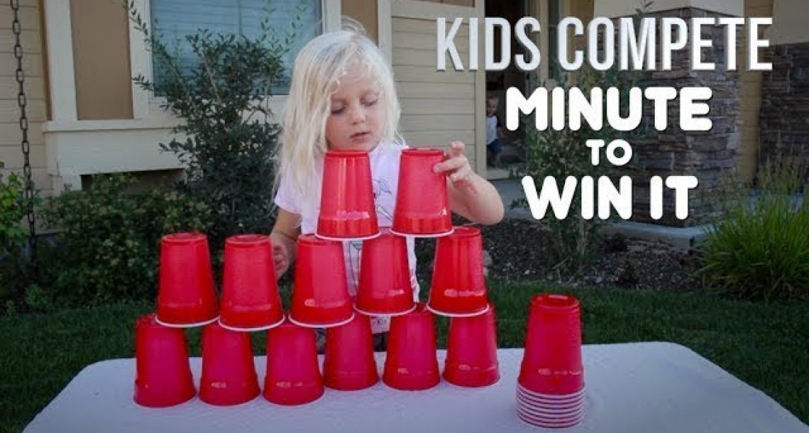 Summer Fun: Minute-To-Win-It Summer Games